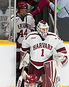 Luke Esposito (Harvard - 9), Michael Floodstrand (Harvard - 44), Sihak Lee (Harvard - 1) - The Harvard University Crimson defeated the Providence College Friars 3-0 in their NCAA East regional semi-final on Friday, March 24, 2017, at Dunkin' Donuts Center in Providence, Rhode Island.