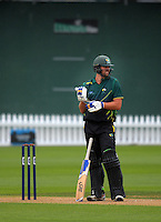 170201 Ford Trophy Cricket - Wellington Firebirds v Central Stags