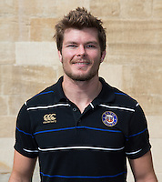 Strength and Conditioning Coach Guy Lewis poses for a portrait at a Bath Rugby photocall. Bath Rugby Media Day on September 8, 2015 at Farleigh House in Bath, England. Photo by: Rogan Thomson for Onside Images
