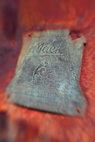 Mack Bulldog Emblem - Motor Transport Museum - Campo, CA - Lensbaby