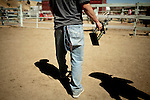 Third place got Matt Rogers of Burlingame, Calif. ripped jeans and a trophy at the 51st annual International Camel Races in Virginia City, Nevada  September 12, 2010. .CREDIT: Max Whittaker for The Wall Street Journal.CAMEL