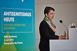2.7.2015, Berlin Topographie des Terrors. NEBA-Konferenz Antisemitismus heute. Deidre Berger