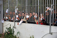 Migrants wait for hours at the gate of the Athens Central Police Asylum Department, to apply for a visa or a temporary resident status. Few applications get noticed; the department is notorious for being an  administrative nightmare. According to UNHCR, 38,992 immigrants arrived in Greece in the first 10 months of 2010, whereas in 2009 the number was only 7,574.