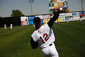 Sean Henry. The 2010 Carolina Mudcats during a practice at Five County Stadium in Zebulon, North Carolina, April 6, 2010.