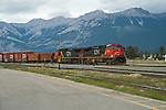 Canada's railroad system hauling freight through Canada