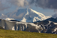 Alaska range mountain scenic, Denali National park, interior, Alaska.
