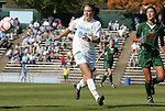 02 November 2008: North Carolina's Courtney Jones. The University of North Carolina Tar Heels defeated the University of Miami Hurricanes 1-0 at Fetzer Field in Chapel Hill, North Carolina in an NCAA Division I Women's college soccer game.