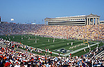 CHICAGO,IL-1998:  A general view of Soldier Field in Chicago Illinois during an NFL game.  Soldier Field is home of the Chicago Bears football team.  (Photo by Ron Vesely)