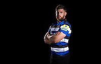 Dave Attwood poses for a portrait at a Bath Rugby photocall. Bath Rugby Media Day on August 24, 2016 at Farleigh House in Bath, England. Photo by: Rogan Thomson / JMP / Onside Images