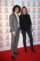 Sandrine Quetier - Laurent Maistret - SOIREE DE PRESENTATION DU SIDACTION 2017 AU MUSEE DU QUAI BRANLY