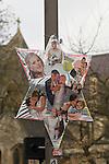 Jade Goody Funeral April 4 2009. TV Reality Star funeral service  at Buckhurst Hill, St Johns Church Essex UK.