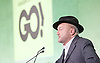 Grassroots Out Public Rally Campaign event at Queen Elizabeth Conference Centre, London, Great Britain <br /> 19th February 2016 <br /> <br /> <br /> George Galloway <br /> speaks <br /> <br /> Photograph by Elliott Franks <br /> Image licensed to Elliott Franks Photography Services