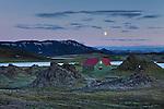 Night at Veiðivötn, central highlands of Iceland