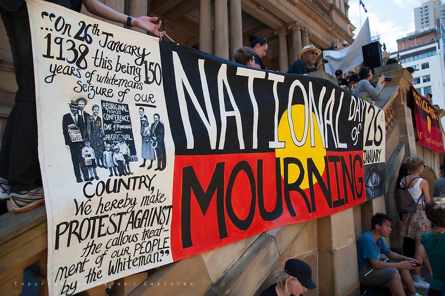 Invasion Day, Sydney 26.01.15
