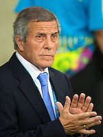 Uruguay manager Oscar Washington Tabarez