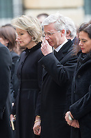 National tribute to commemorate Brussels terrorist attacks - Belgium