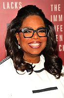 NEW YORK, NY - April 18: Oprah Winfrey attend 'The Immortal Life of Henrietta Lacks' premiere at SVA Theater on April 18, 2017 in New York City. <br /> CAP/MPI/JP<br /> &copy;JP/MPI/Capital Pictures