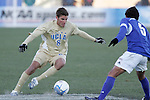 3 December 2006: UCLA's Sal Zizzo (8) looks to cut back against UCSB's Jon Curry (5). California-Santa Barbara defeated California-Los Angeles 2-1 at Robert R. Hermann Stadium in St. Louis, Missouri in the NCAA men's college soccer tournament final game to win the 2006 NCAA Championship.