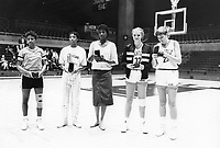1986: Lucky Cardinal Classic, All-Tournament Team members: Kami Anderson, Katy Steding.