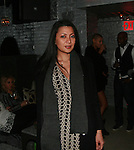 Erika attends Cosmopolitan Kisses For The Troops Official After-Party Hosted by Lisalla Montenegro At The Polar Lounge In The Marcel At Gramercy, NY