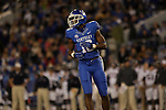 Kentucky Wildcats wide receiver La'Rod King (16) during the first half of the UK Football game v. Samford at Commonwealth Stadium in Lexington, Ky., on Saturday, November 17, 2012. Photo by Genevieve Adams | Staff