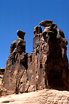 UT: Utah; Arches National Park, Three Gossips               .Photo Copyright: Lee Foster, lee@fostertravel.com, www.fostertravel.com, (510) 549-2202.Image: utarch227