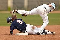 SAN ANTONIO, TX - MARCH 15, 2014: The Columbia University Lions versus the University of Texas at San Antonio Roadrunners Baseball at Roadrunner Field. (Photo by Jeff Huehn)