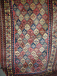 ATP-112  ANTIQUE KURDISH LATTICE RUG
