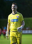 Brechin City v St Johnstone&hellip;26.07.16  Glebe Park, Brechin. Betfred Cup<br />Brechin hero Graeme Smith all smiles after saving the penalty<br />Picture by Graeme Hart.<br />Copyright Perthshire Picture Agency<br />Tel: 01738 623350  Mobile: 07990 594431