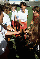 San Francisco, CA &ndash; August 28th 1982<br /> The first Gay Olympic game, the enthusiast supporters overwhelmed, embracing their lovers.