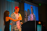 Haleiwa Hawaii, (Monday December 6, 2010) .Monday, Jordy Smith (ZAF).  40th annual SURFER Poll Awards were held tonight at Turtle Bay Resort on Oahu's North Shore..Sal Masekela (USA)  returned to serve as the Master of Ceremonies for the event with charismatic Hawaiian surf star Fred Patacchia as co-host .This year's SURFER Poll Awards were held in honor of recently lost legend, three-time World Champion Andy Irons. While acknowledging all of the surfers lost this year, the event  put a heavy focus on Andy and the legacy he leaves behind in and out of the water. Another focal point of this year's show was  Kelly Slater's 10th world title win. Touted as the world's most dominant athlete, Kelly's accomplishments have catapulted the sport of surfing and garnered the world's attention. Kelly was award the male Surfer of the Year award with Stephanie Gilmore (AUS) taking out the Female Surfer of the Year..Photo: joliphotos.com