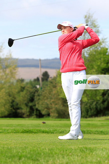 Julie McCarthy (Forrest Little) on the 7th tee during Round 1 of the Irish Women's Open Strokeplay Championship at Dun Laoghaire Golf Club on Saturday 23rd May 2015.<br /> Picture:  TJ Caffrey / www.golffile.ie