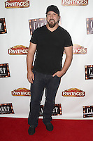 HOLLYWOOD, CA - JULY 20: Joey Fatone at the opening of 'Cabaret' at the Pantages Theatre on July 20, 2016 in Hollywood, California. Credit: David Edwards/MediaPunch