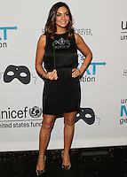 HOLLYWOOD, LOS ANGELES, CA, USA - OCTOBER 30: Courtney Laine Mazza arrives at UNICEF's Next Generation's 2nd Annual UNICEF Masquerade Ball held at the Masonic Lodge at the Hollywood Forever Cemetery on October 30, 2014 in Hollywood, Los Angeles, California, United States. (Photo by Rudy Torres/Celebrity Monitor)
