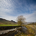 Spring in the Langdale Valley, Lake District, Cumbria, UK