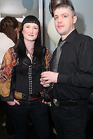 NO REPRO FEE. 3/2/2011. OPENING OF THE COUNTER. Gemma Horan and Padraic Brennan are pictured at the opening of the Counter restaurant on Suffolk St Dublin. Picture James Horan/Collins Photos