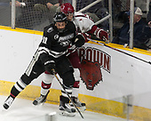 Niko Rufo (PC - 11), Viktor Dombrovskiy (Harvard - 27) - The Harvard University Crimson defeated the Providence College Friars 3-0 in their NCAA East regional semi-final on Friday, March 24, 2017, at Dunkin' Donuts Center in Providence, Rhode Island.