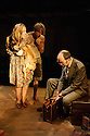 London, UK. 05.01.2016. Two Shed Theatre's AFRICAN GOTHIC, by Reza de Wet, directed by Roger Mortimer and Deborah Edgington, opens at Park Theatre. Picture shows: Janna Fox (as Sussie), Oliver Gomm (Frikkie), Adam Ewan (Grové). Photograph © Jane Hobson.