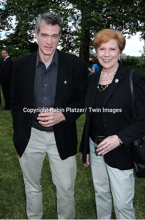 """Ed Fry and Roberta Reardon at the """"Made in NY"""" Awards on June 7, 2010 at Gracie Mansion in New York City."""
