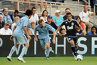 Camilo (3) Vancouver Whitecaps midfielder in action... Sporting KC defeated Vancouver Whitecaps 2-1 at LIVESTRONG Sporting Park, Kansas City, Kansas.