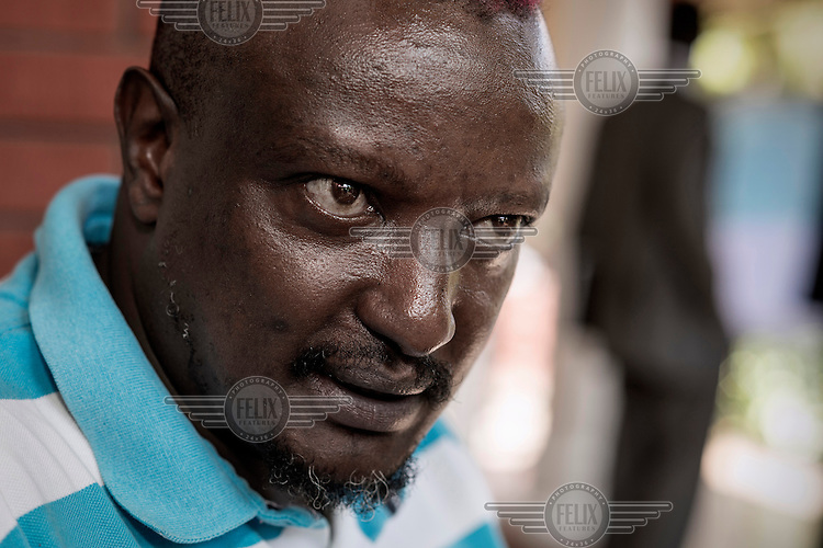 Author and gay rights activist Binyavanga Wainaina.