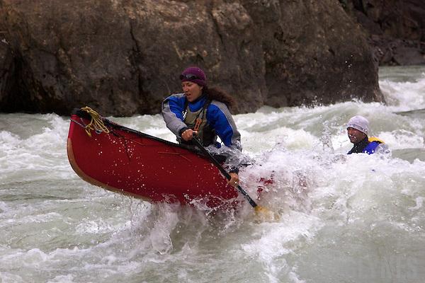 Snake river canoe expedition northern yukon