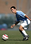 11 September 2005: Michael Callahan. The University of North Carolina Tarheels defeated the University of South Carolina Gamecocks 2-0 in an NCAA Divison I men's soccer game at Fetzer Field in Chapel Hill, NC.