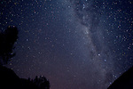 Milky Way over the Andes as seen from near Cuzco, Peru at 15,000 feet on the Lares trek.