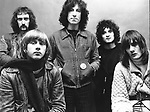 Fleetwood Mac 1969 John McVie, Danny Kirwan, Peter Green, Jeremy Spencer, Mick Fleetwood<br /> &copy; Chris Walter