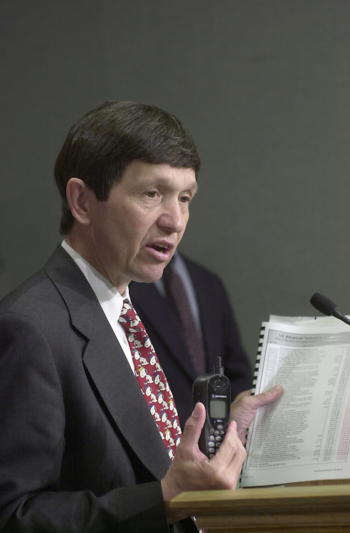 Kucinich D.2(DG) 051900 -- Dennis J. Kucinich, D-OH., during a press conference to speak out against China PNTR.