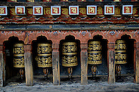 Buddhist prayer wheel, Thimpu, Bhutan. Arindam Mukherjee..