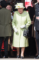 APR 21 The Queen on walkabout on her 90th birthday