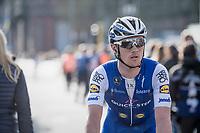 Yves Lampaert (BEL/Quick Step Floors) post-finish<br /> <br /> 79th Gent-Wevelgem 2017 (1.UWT)<br /> 1day race: Deinze &rsaquo; Wevelgem - BEL (249km)