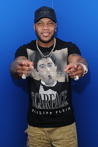 FORT LAUDERDALE, FL - FEBRUARY 07: Flo Rida visits iHeart Radio Station Y100 on February 7, 2017 in Fort Lauderdale, Florida. Credit: mpi04/MediaPunch